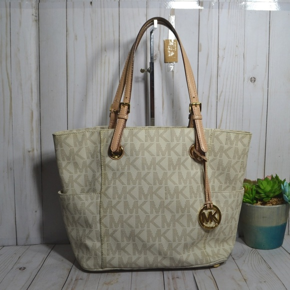 Michael Kors Handbags - Michael Michael Kors Jet Set Large Tote East West